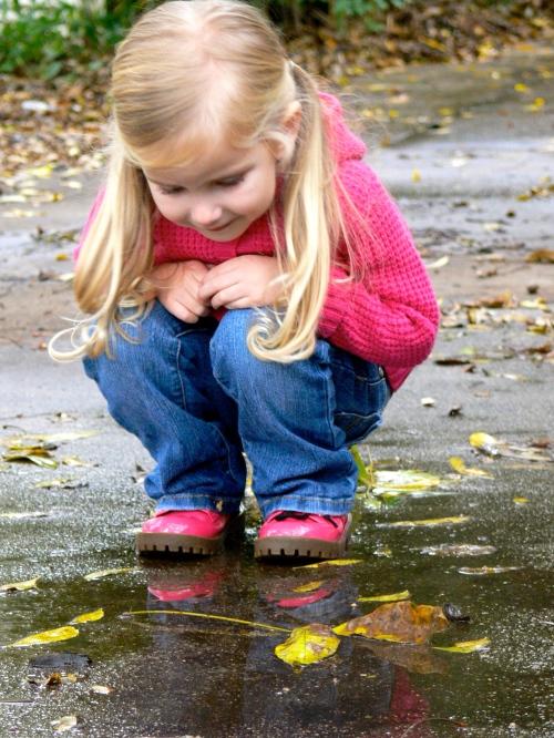 puddle peering