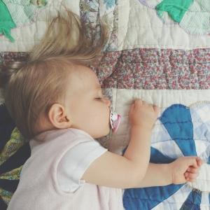 Emma sleeps
