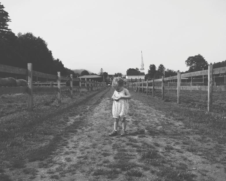 emma in the fields