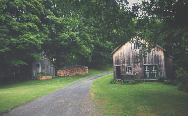 wood barns